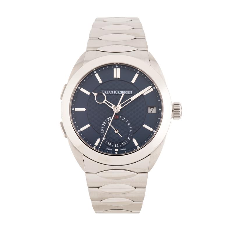 Urban Jürgensen, One - GMT, Stainless Steel