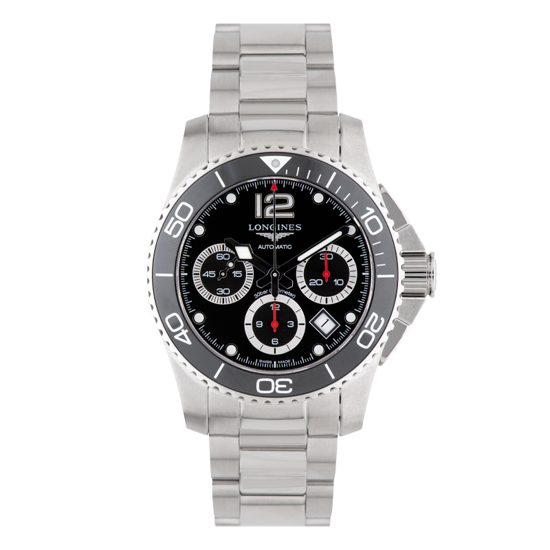 Longines, HydroConquest, Stainless Steel