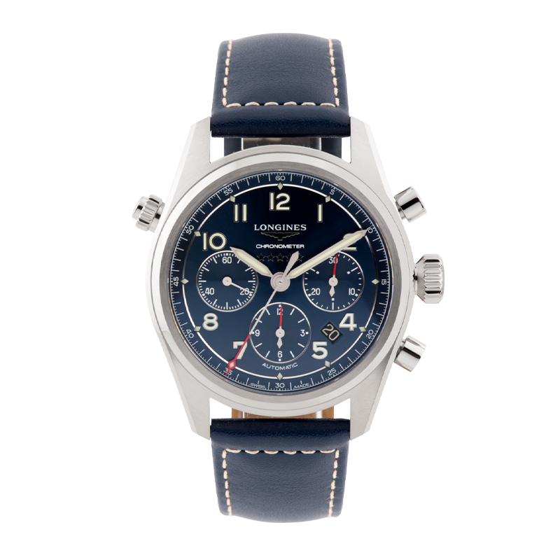 Longines, Sprit Chronograph, Stainless Steel