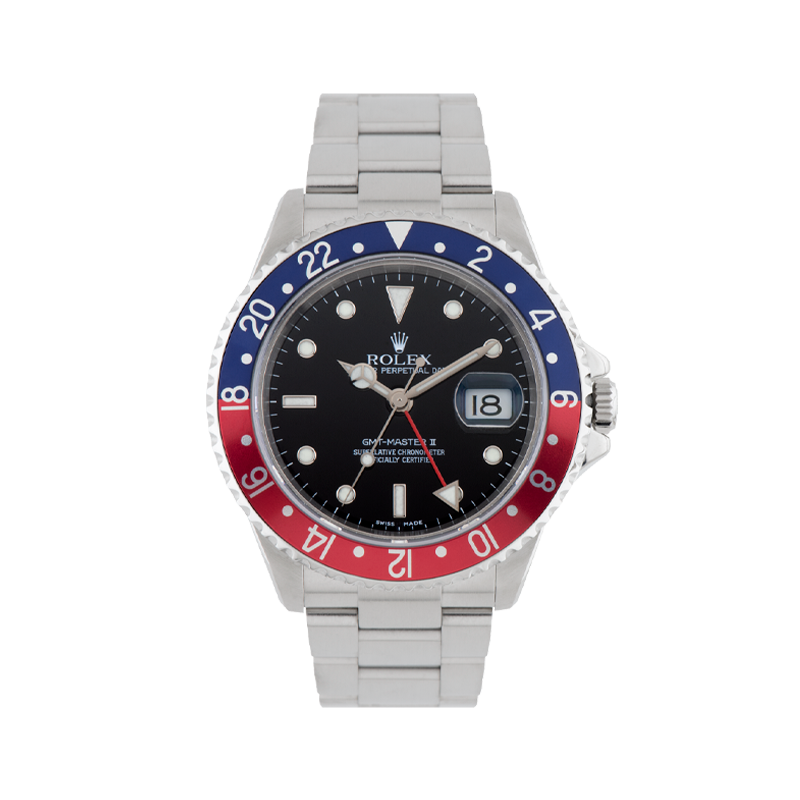 Rolex, GMT Master II, Oystersteel