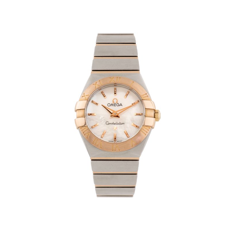 Omega, Constellation, Stainless Steel & Rose Gold