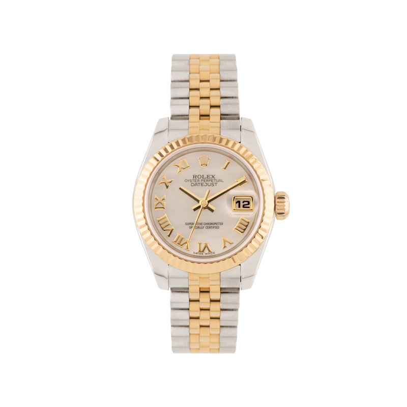 Rolex, Lady-Datejust 26, Yellow Rolesor