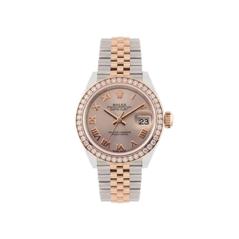 Rolex, Lady-Datejust 28, Everose Rolesor