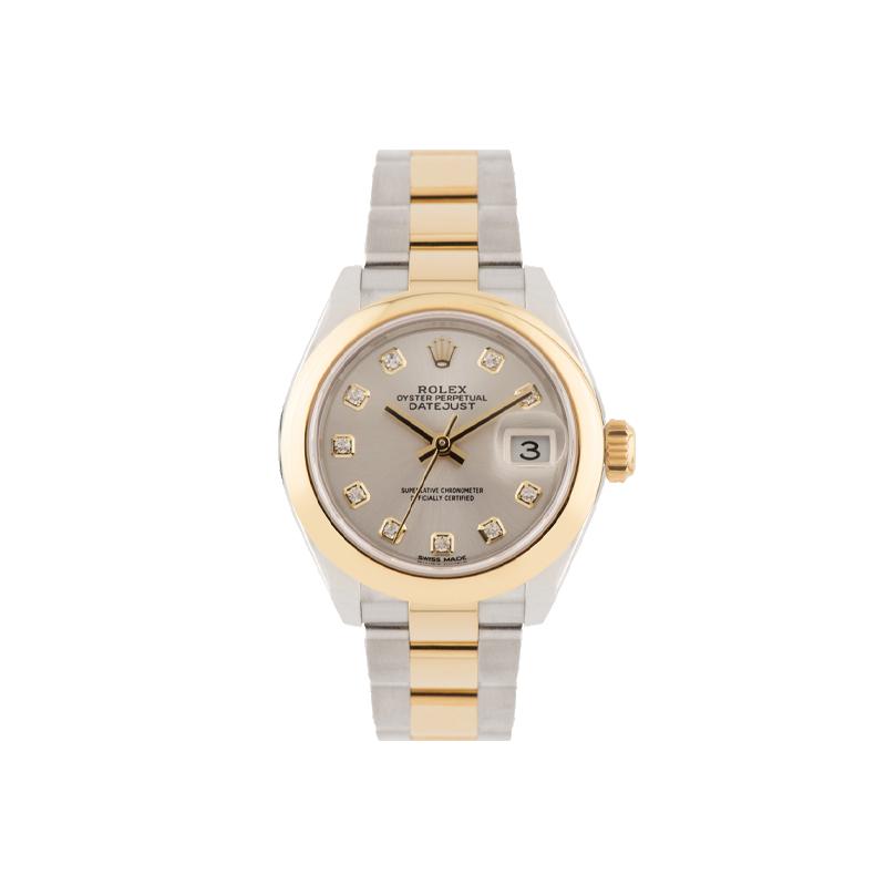 Rolex, Lady-Datejust 28, Yellow Rolesor