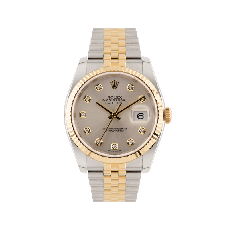 Rolex, Datejust 36, Yellow Rolesor