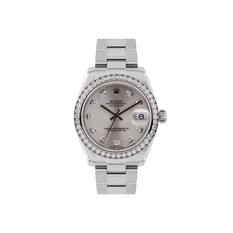 Rolex, Datejust 31, White Rolesor