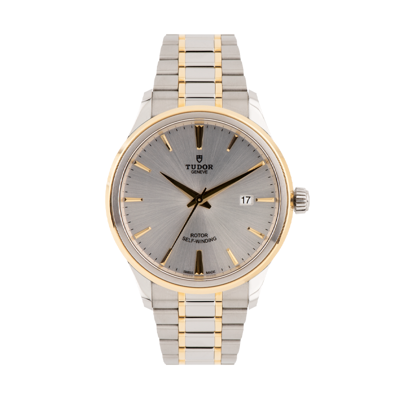 TUDOR, Style, Steel and Yellow Gold