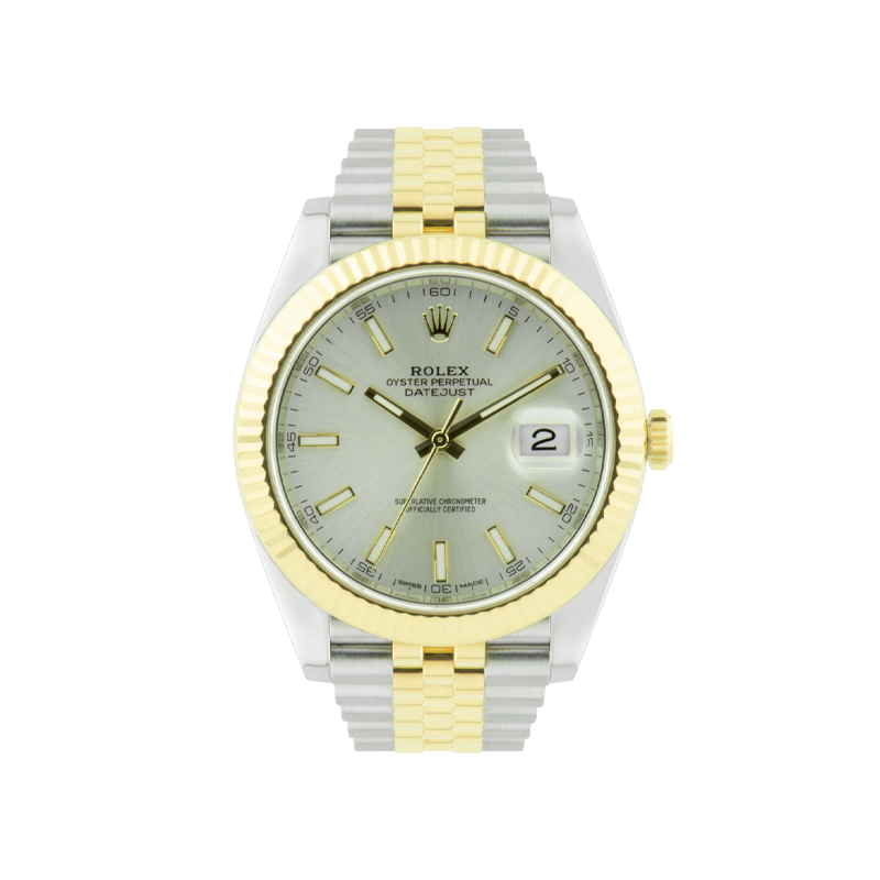 Rolex, Datejust 41, Yellow Rolesor