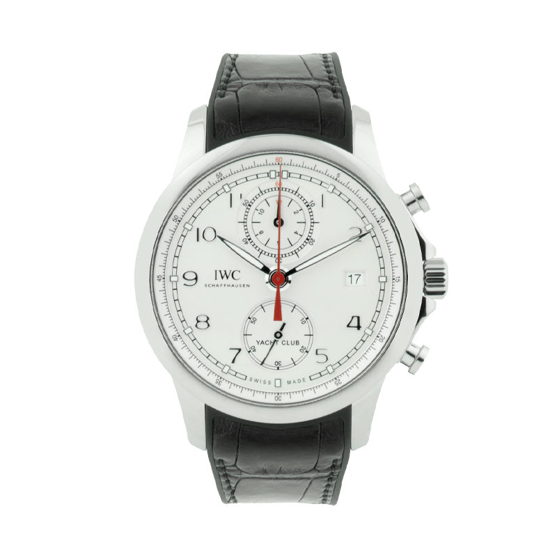IWC, Yacht Club Chronograph, Stainless Steel