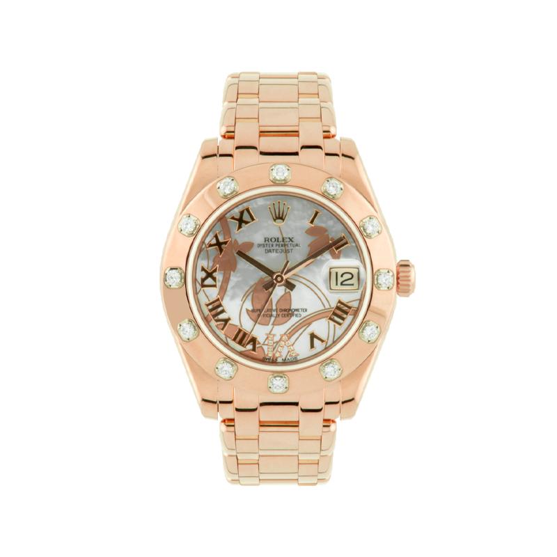 Rolex, Pearlmaster 34, Everose Gold