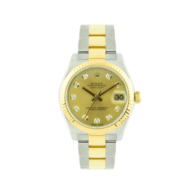 Rolex, Datejust 31, Yellow Rolesor