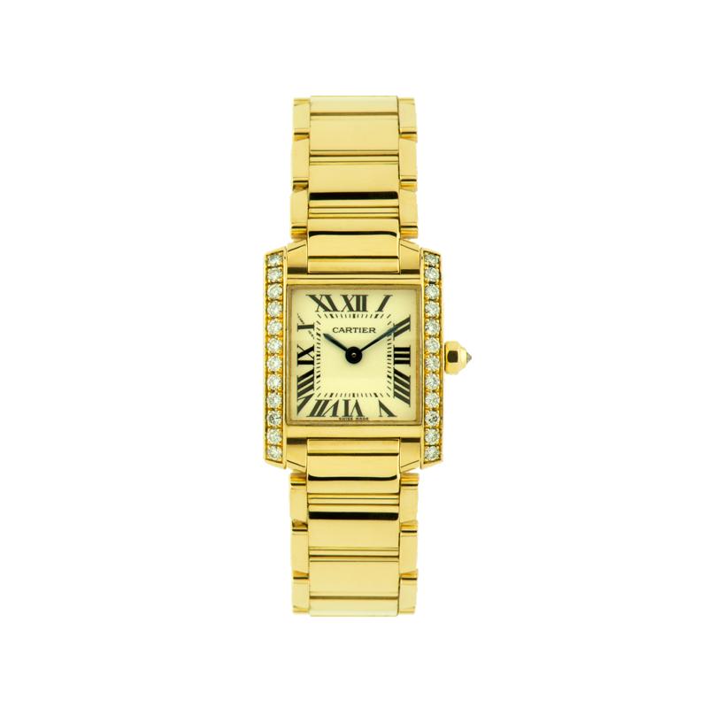 Cartier, Tank Française, 18ct Yellow Gold