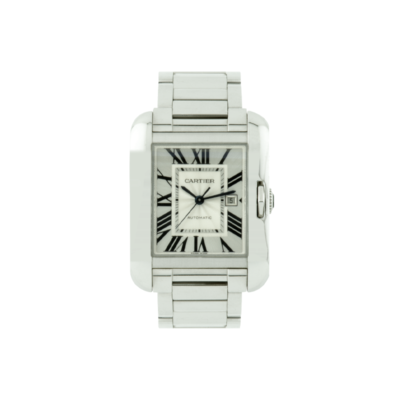 Cartier, Tank Anglaise, 18ct White Gold