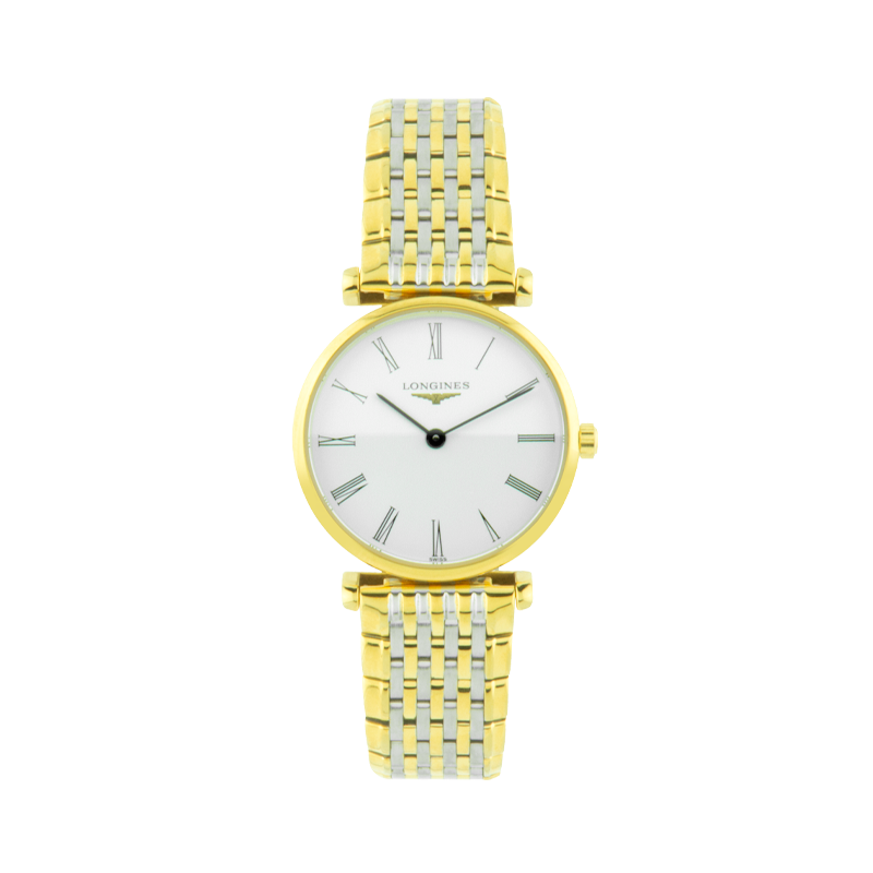 Longines, Grande Classique, Stainless Steel and Gold Plated
