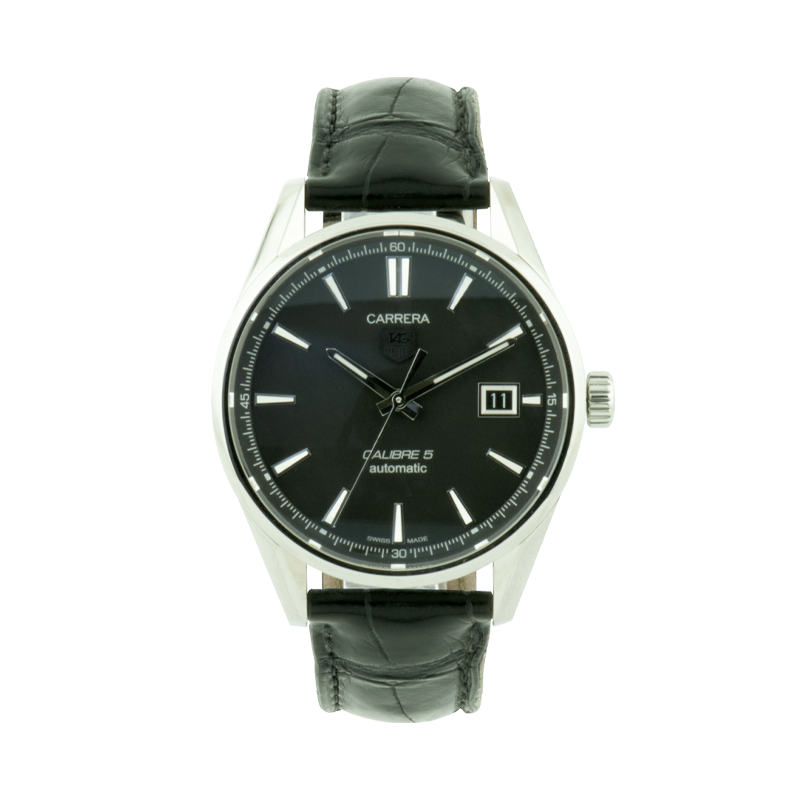 TAG Heuer, Carrera Calibre 5, Stainless Steel