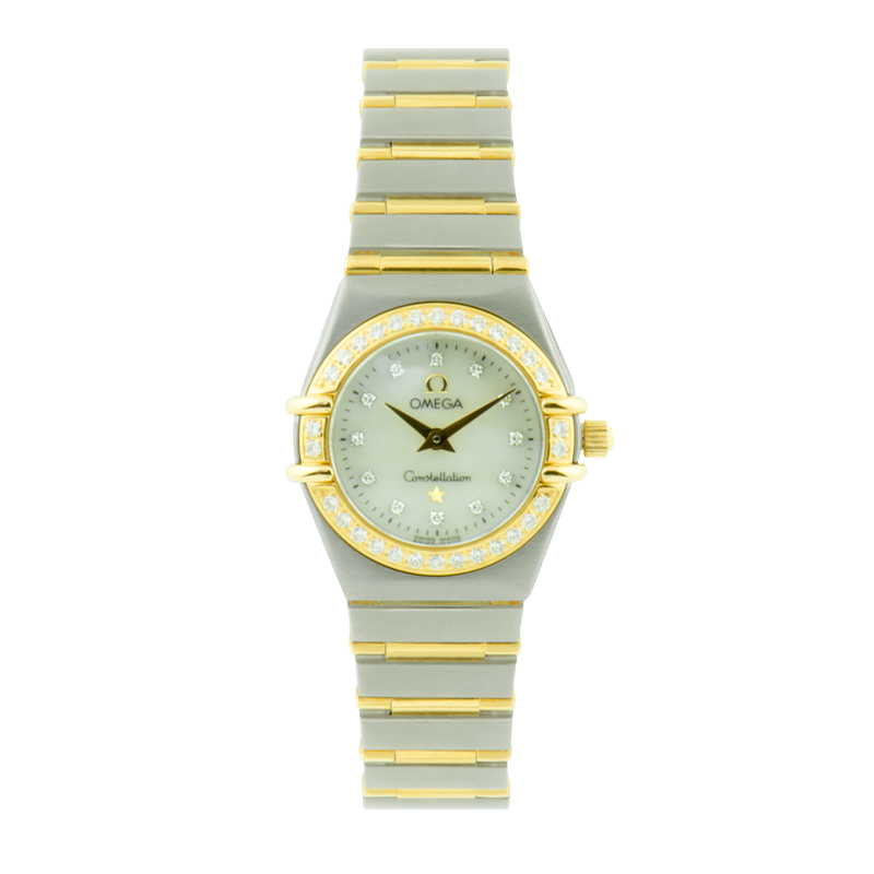 Omega, Constellation, Stainless Steel and 18ct Yellow Gold